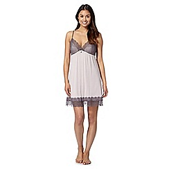 J by Jasper Conran - Designer light brown lace chemise