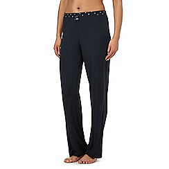 J by Jasper Conran - Dark grey pyjama bottoms