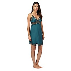 J by Jasper Conran - Green lace chemise