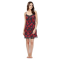 Gorgeous DD+ - Red rose DD-G cup chemise