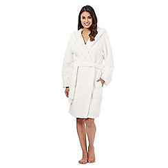 Lounge & Sleep - White polar bear dressing gown