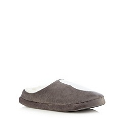 Lounge & Sleep - Cream polar bear mule slippers