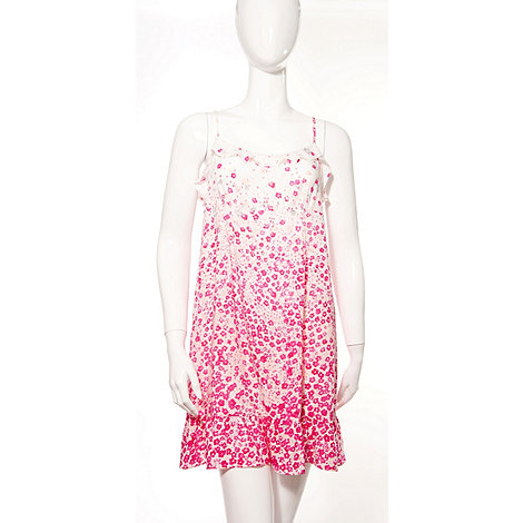 DKNY - Floral print chemise