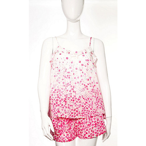 DKNY - Floral print top and short set