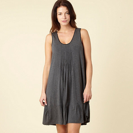 DKNY - Grey knee length chemise