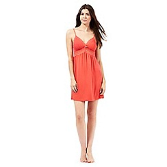 J by Jasper Conran - Orange lace top chemise