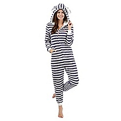Iris & Edie - Cream striped onesie