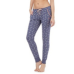 Iris & Edie - Blue star print pants