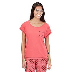 Lounge & Sleep - Pink pyjama top