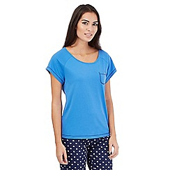 Lounge & Sleep - Blue pyjama top
