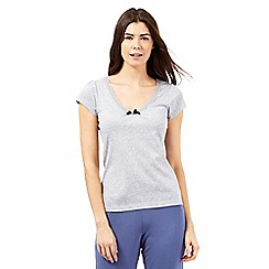 Lounge & Sleep - Grey marl pyjama top
