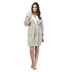Lounge & Sleep - Grey owl dressing gown