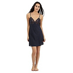 The Collection - navy lace chemise