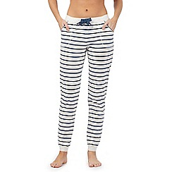 Mantaray - Grey striped pyjama bottoms