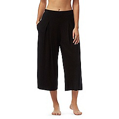 J by Jasper Conran - Black jersey pyjama culottes