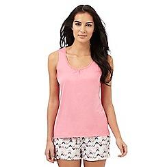 Lounge & Sleep - Pink sleep vest