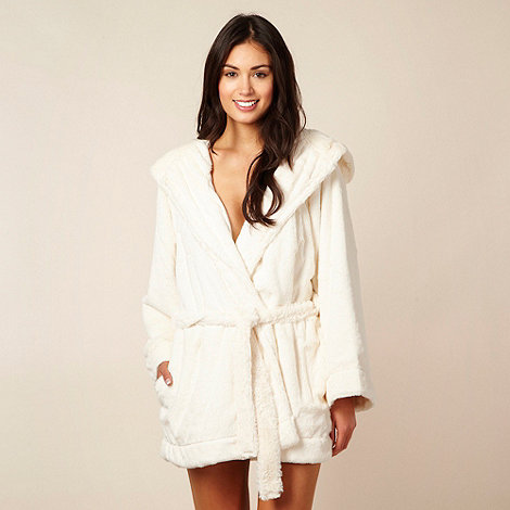 RJR.John Rocha - Cream soft touch dressing gown