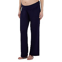 Debenhams - Navy maternity pyjama bottoms