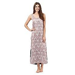 The Collection - Purple zigzag print night dress