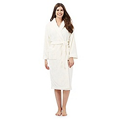 Lounge & Sleep - Cream dressing gown