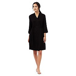 J by Jasper Conran - Black lace trim wrap