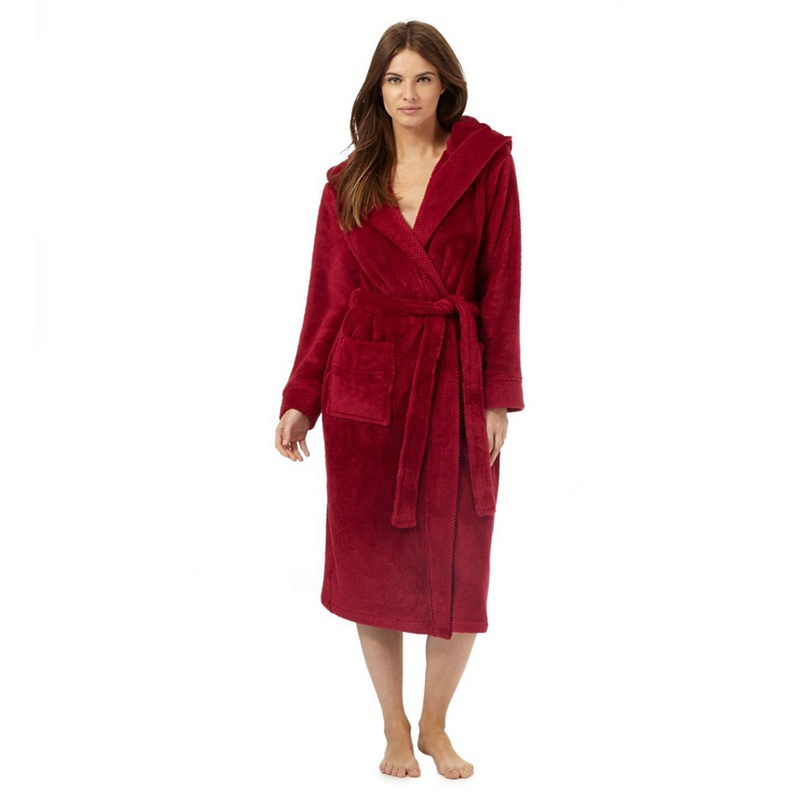 Exelent Hooded Dressing Gown Womens Motif - Images for wedding gown ...