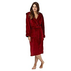 J by Jasper Conran - Dark red dressing gown