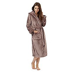 J by Jasper Conran - Taupe dressing gown