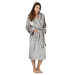 Lounge & Sleep - Light grey dressing gown