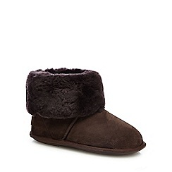 Just Sheepskin - Brown 'Albery' luxury boot