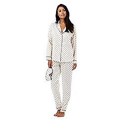 J by Jasper Conran - Ivory star print pyjama set
