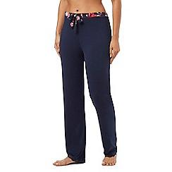 Gorgeous DD+ - Navy pyjama bottoms