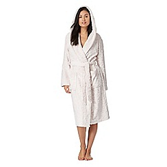 Lounge & Sleep - Pink animal print dressing gown