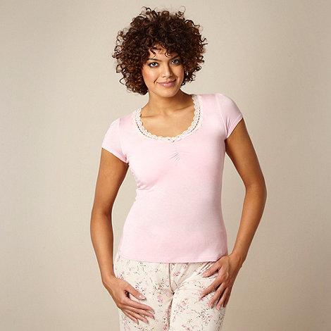Gorgeous DD+ - Pink hidden support DD-G pyjama top