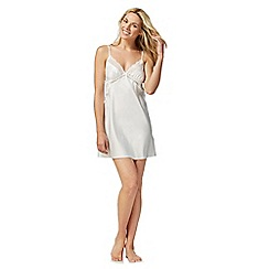 The Collection - Ivory satin chemise