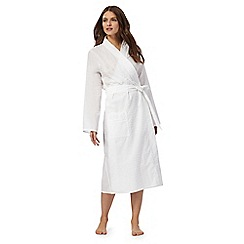 Lounge & Sleep - White long wrap