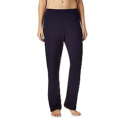 Lounge & Sleep - Navy pyjama bottoms