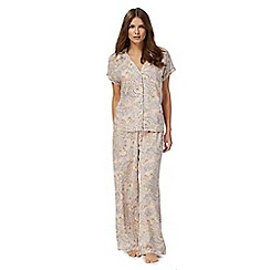 Lounge & Sleep - Pink paisley print pyjama set