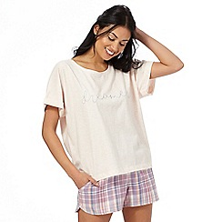 Iris & Edie - Pink 'Daydreamer' pyjama top