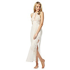 The Collection - Ivory lace maxi chemise