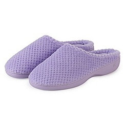 Totes - Liliac mule slippers