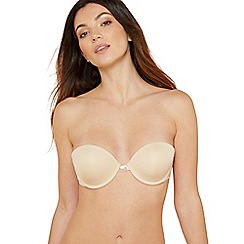 Debenhams - Cream underwired padded multi-way bra
