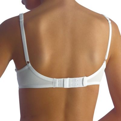 Pack of 3x two hook bra extenders