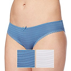 The Collection - 2 pack assorted Brazilian briefs