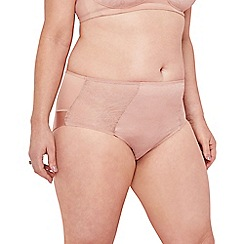 The Collection - Light pink lace midi knickers