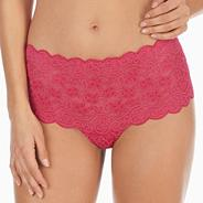 Dark pink Amourette 300 maxi brief