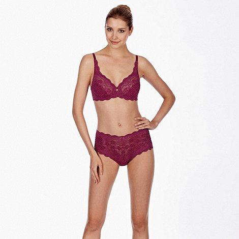 Triumph - Pink +Amourette 300+ wired bra - size 36G