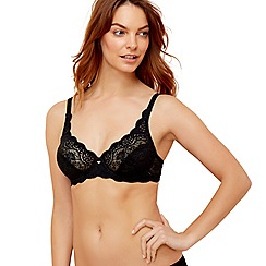 Triumph - Black 'Amourette 300' wired bra