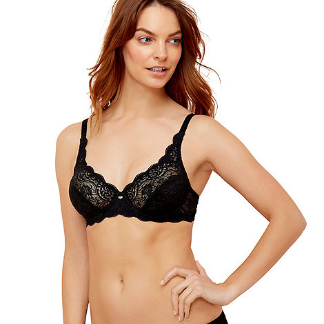 Triumph - Black +Amourette 300+ wired bra