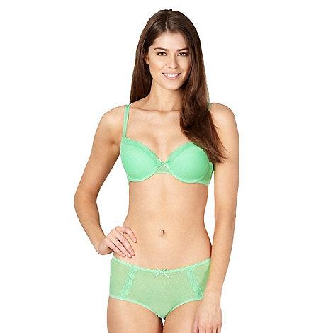 Debenhams - Light green mesh lace t-shirt bra
